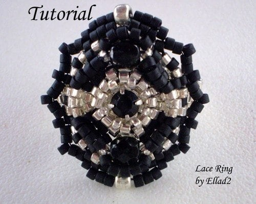 Beading Tutorial Lace Ring