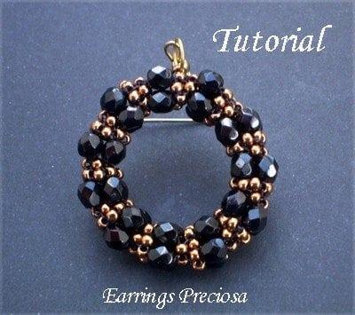 Beading Tutorial Preciosa Earrings