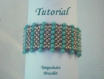 Beading Tutorial Turquoiseta Bracelet