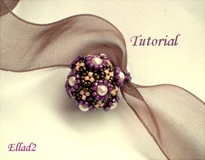 Beading Tutorial-fuschia-flowers-Ellad2