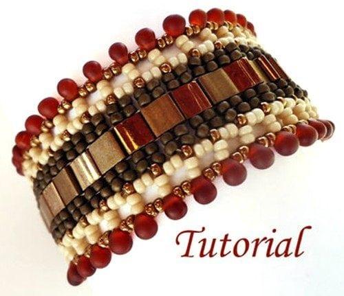 eading-tutorial-Indian-Summer-bracelet