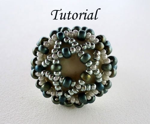 Beading Tutorial Wrapped Cab Ring