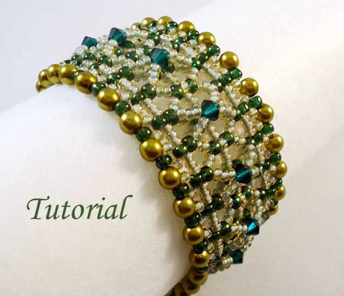 Beading Tutorial Olivine-Bracelet