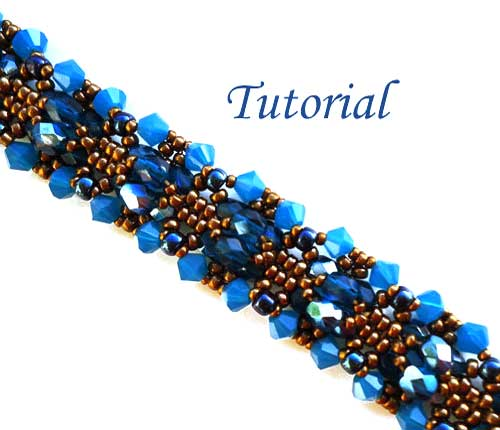Beading Tutorial-Blue-Opal-bracelet-by-Ellad2