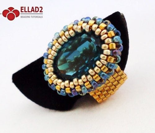 Beading-Tutorial-Indicolite-Oval-Ring-by-Ellad2