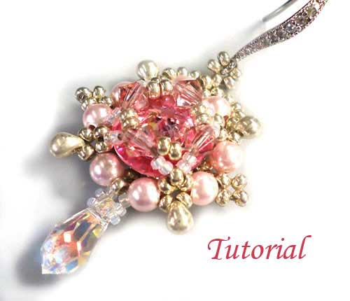 Tutorial-Rose-delight-Earrings