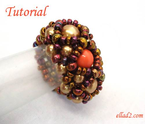 Beading Tutorial Hera RIng