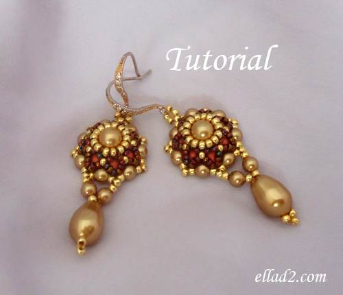 Beading Tutorial Go Girl Earrings