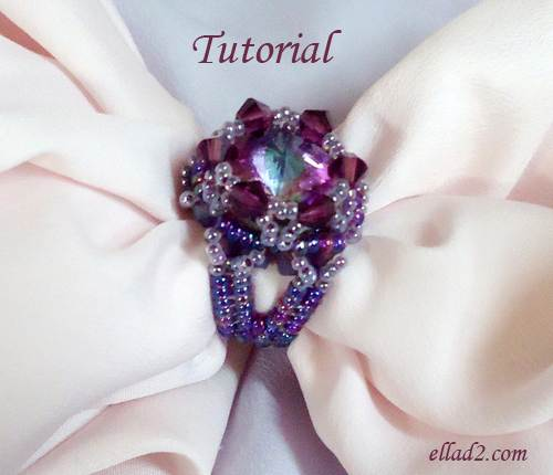 Beading Tutorial Cher Ring