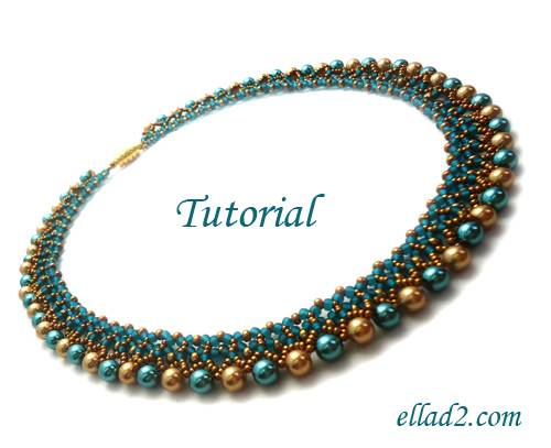 Beading Tutorial Tutorial Freya Necklace