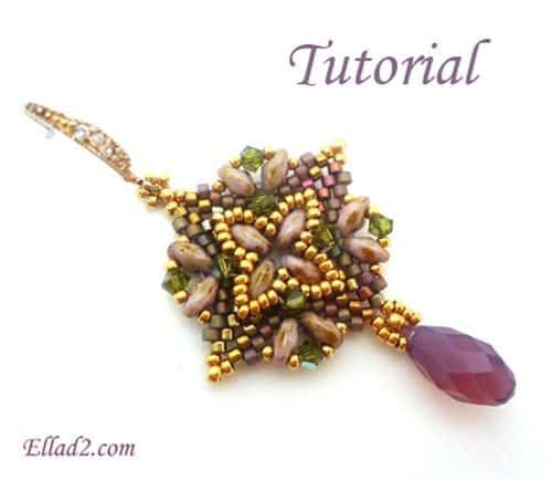 Beading Tutorial Super Square Earrings