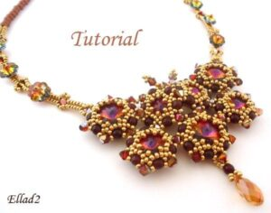 Beading Tutorial Madame Butterfly Necklace