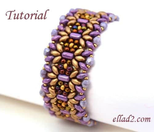 Beading Tutorial Margarita Bracelet by Ellad2