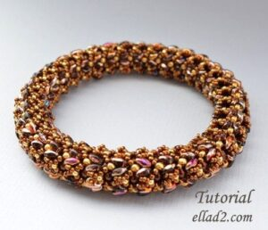 Beading-instruction Kyra-Bangle-by-Ellad2