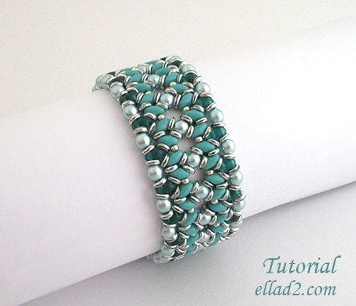 Beading Tutorial O-Duo Bracelet by Ellad2