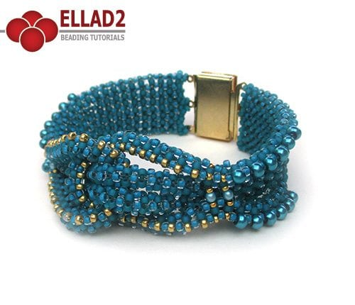 CRAW beaded bracelet by Ellad2