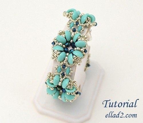 Beading-tutorial-Lucky Clover Bracelet