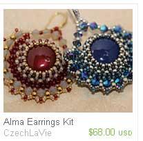 Alma-Earrings Bead-Kits--CzechLaVie-Ellad2