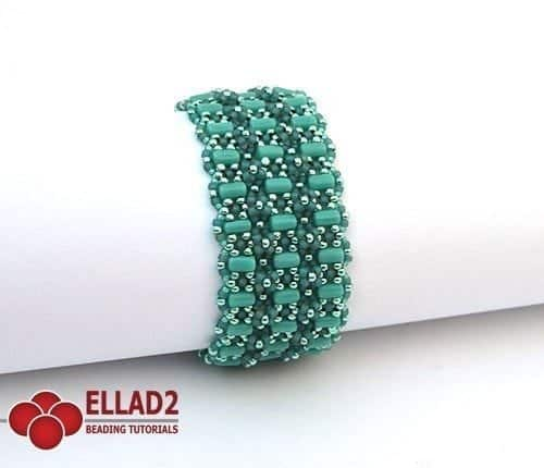 Amarante Bracelet - Ellad2 Beading Pattern