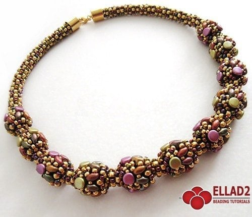 Manon Necklace - Ellad2 Beading Pattern