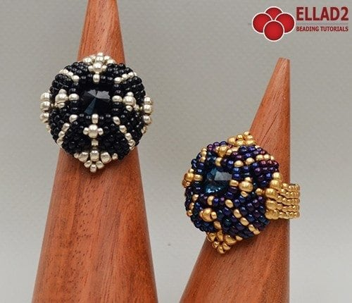 lava ring -Ellad2 Beading Pattern