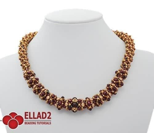 Riana Necklace - Ellad2 Beading Pattern