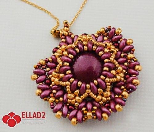 keira pendant -Ellad2 Beading Pattern