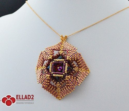 Dame's Rocket-Beading Patterns and Tutorials by Ellad2