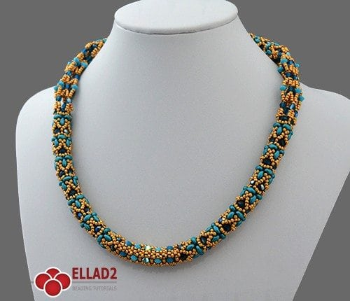 Saga Necklace- Ellad2 Beading Pattern