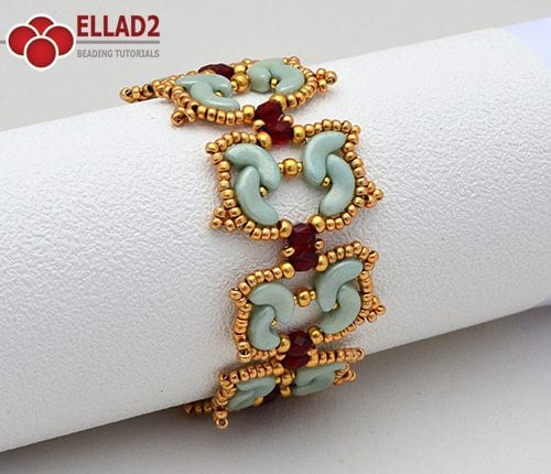 Beading-tutorial-Tulip-bracelet-by-Ellad2