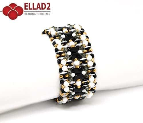 Beading Tutorial Kiara Bracelet by Ellad2