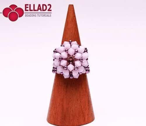 Beading Tutorial Ring Alabaster by Ellad2