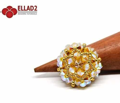 Wello ring beading tutorial Ellad2