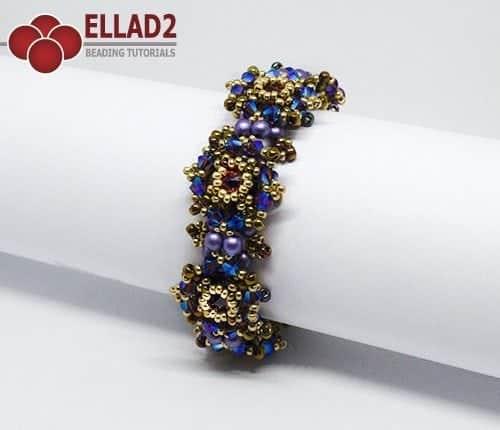 Zara Bracelet beading Tutorial by Ellad2