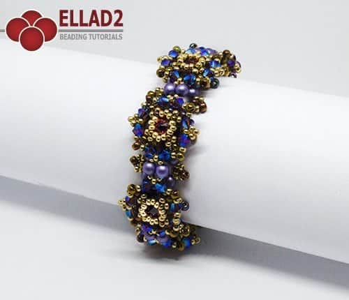 Zara Bracelet beading Tutorial by Ellad2