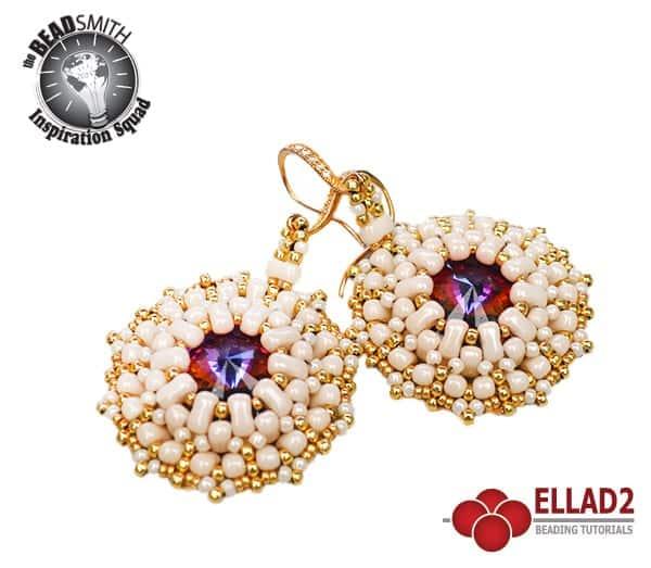 Beading Tutorial Bi-Bo Earrings by Ellad2