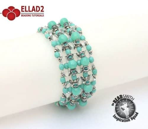 Kheops Weaves Bracelet Beading Tutorial by Ellad2