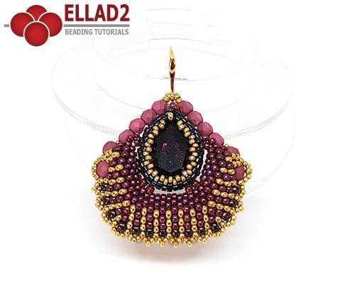 Beading Tutorial Dasha Earrings by Ellad2