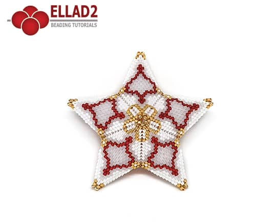 Beading Pattern 3D Star by Ellad2