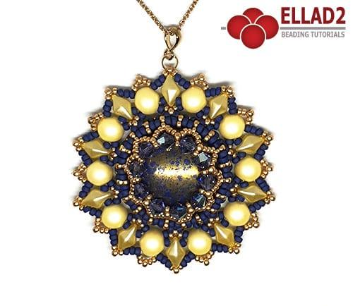 Beading tutorial with Diamonduo beads by Ellad2