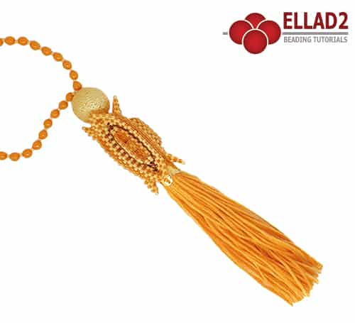 Beading Tutorial Decorative Tassel by Ellad2