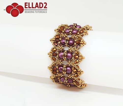 Beading Tutorial Charlotte Bracelet by Ellad2