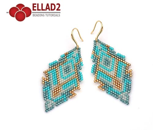 Brick-stitch-beading-pattern-earrings-by-Ellad2