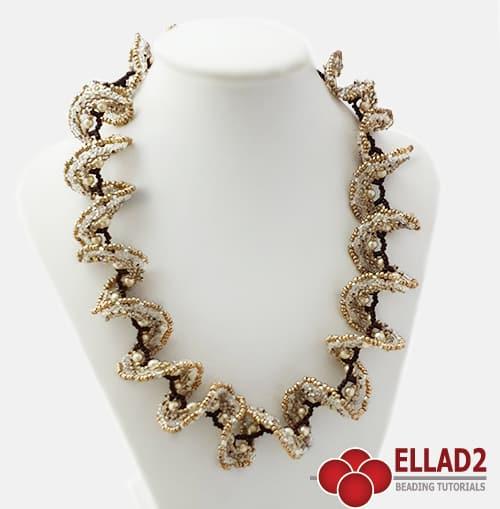 Ellad2 Beading-Tutorial-Ruffle-Necklace